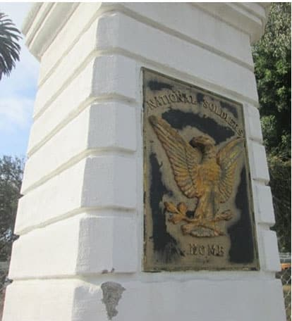 national soldiers plaque