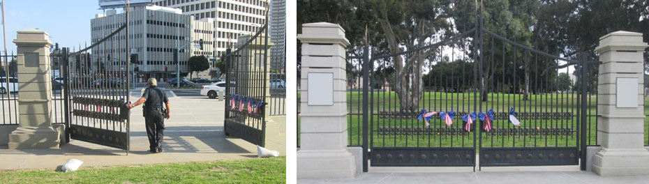 After sundown, the front gates are locked when homeless Veterans are most vulnerable.