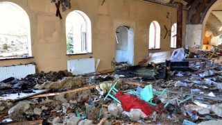 What has not been destroyed, has been looted.
