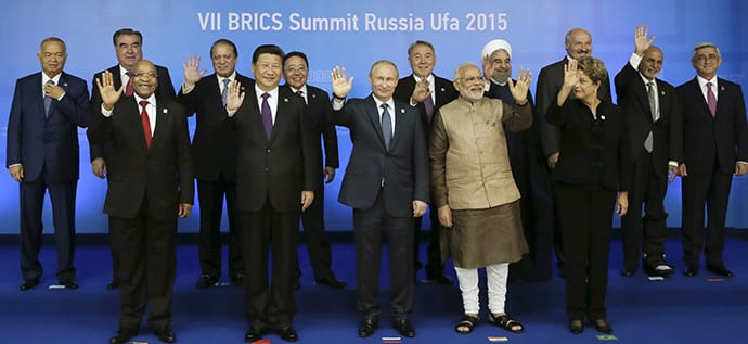 BRICS signatories and numerous observer countries wrapped up the 2015 BRICS Summit in Ufa, Russia
