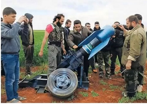 Chemical weapons delivery systems of the type supplied to al Qaeda by Turkey