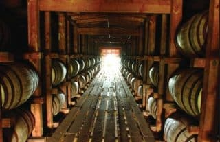 Here is the inside shot of the above photo, showing the wiskey barrels aging, an early Jade Helm Dabo scam