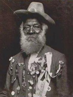 An old Confederate veteran