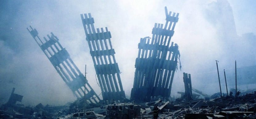 9-11_Ground zero ruins