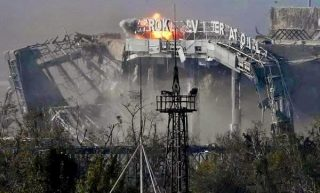 Bombardment of the Donetsk airport