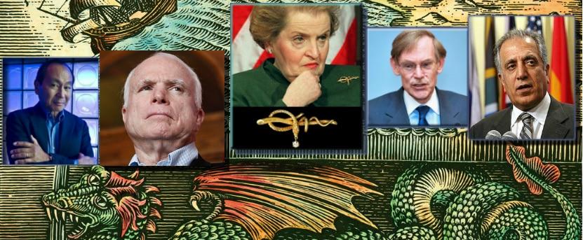 McCain, Albright,
