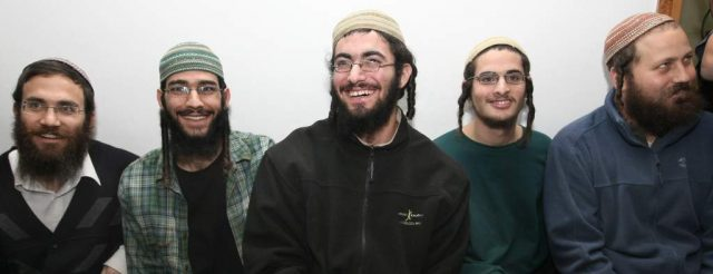 Settlers are usually all smiles when they get arrested as they know its all for show