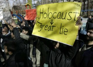Holocaust protest