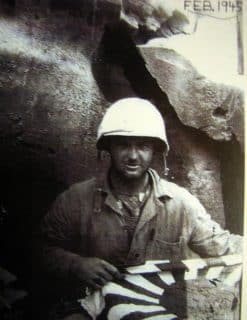Bill Hudson, at another time in another place - Iwo Jima