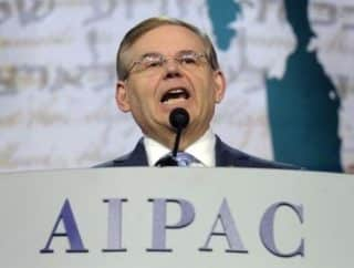 Menendez has been indicted for corruption with two big AIPAC-ADL supporters