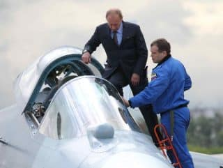 """""""No - Putin did not test fly it."""""""