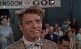 Burt Lancaster in Elmer Gantry - an American classic