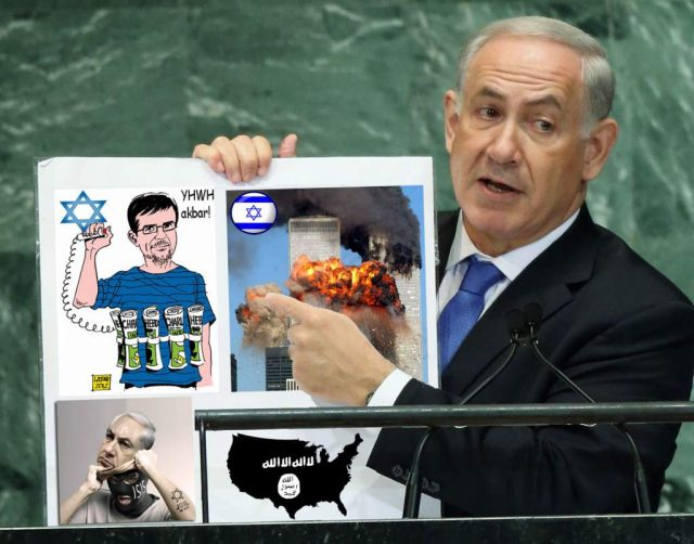 israel-and-netenyahu-is-charlie-hebdo-and-isis