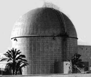 Dimona - secretly subsidized by the Germans