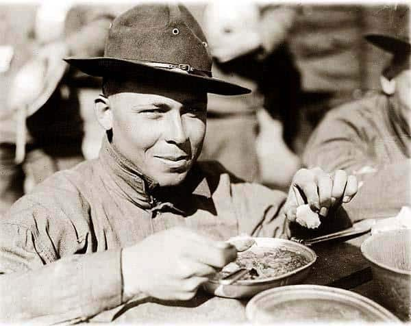 soldier-eating