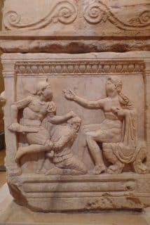 Roman sarchofigus, The National Museum, Beirut - Sept. 18, 2015 - Jim Dean Archives