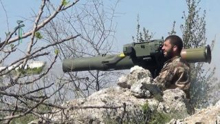 US TOW missiles have killed a lot of Syrian armor fighting ISIS
