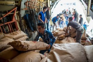 Russian humanitarian supplies for Syria