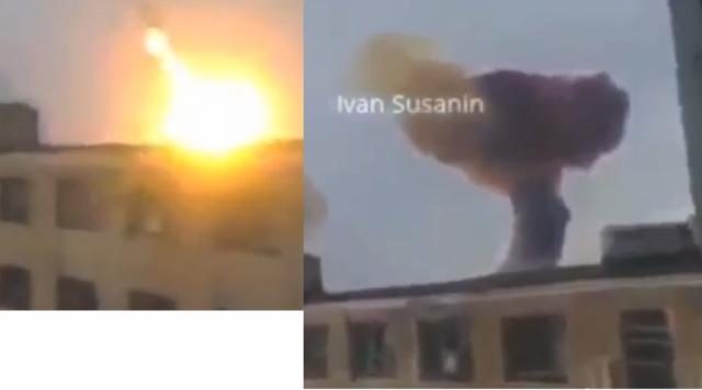 Donetsk Massive Missile Attack
