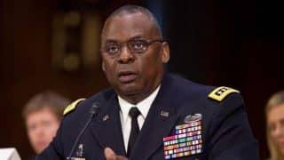 US Central Command Commander Gen. Lloyd Austin III testifies on Capitol Hill in Washington, Wednesday, Sept. 16, 2015.