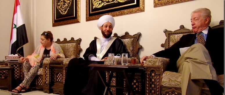 Veterans Today hosted by Syria's Grand Mufti Ahmad Badreddin Hassoun , Damascus, Sept 17, 2015