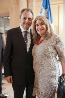 Jane and Ambassador Patricio Hales Photo Mark W. Suits
