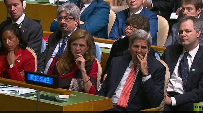 What is John Kerry telling us?
