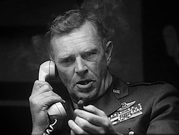 NATO commander, General Breedlove, on the phone with his publicist, Sydney Freedberg JUNIOR