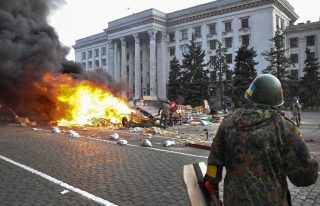 Maidan Protest against investigation of K