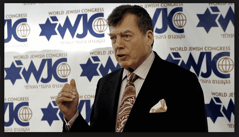 Edgar Bronfman Sr. Became the Leading Light of the Bronfman Family Dynasty, Heading Up the World Jewish Congress from 1979 to 2003.