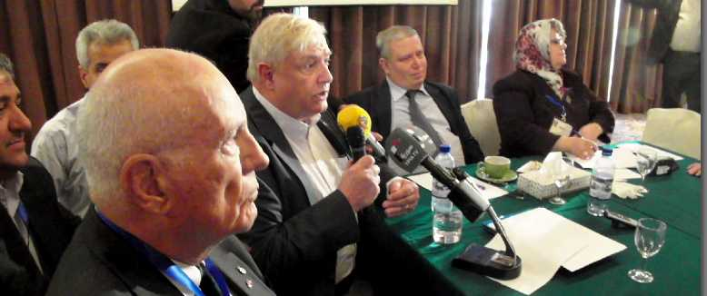 Col. Jim Hanke (ret), Gordon Duff, Syrian Justice Minister