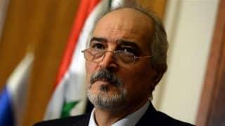Syria's Ambassador to the UN Bashar Ja'afari ©AFP