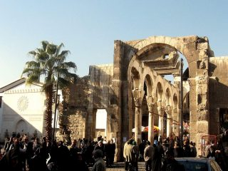 Damascus: the Jupiter temple (III A.C.)