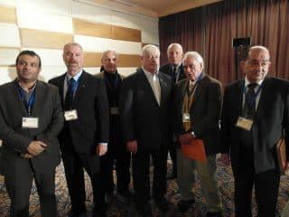 VT team in Syria, Mike, Jim, Gordon and Col. Hanke