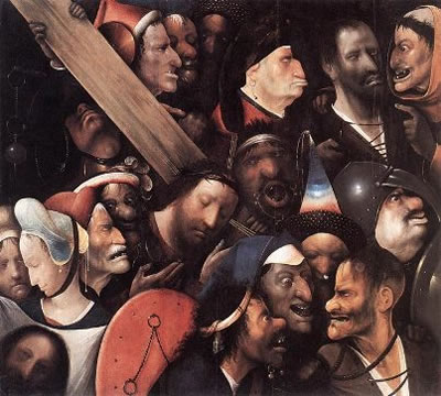 Christ Carrying the Cross, Hieronymus Bosch, 1480