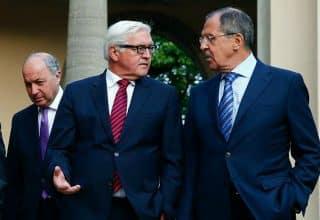 Fabius, Steinmeyer, Lavrov