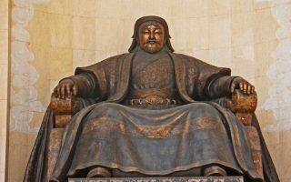 Genghis Khan Monument, Sukhbaatar Square, Ulaanbaatar, Mongolia