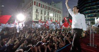 Syriza party rally (file photo)
