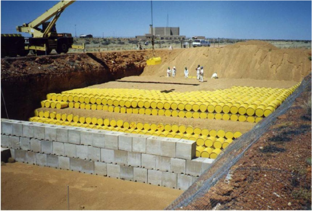 Nuclear waste has to be buried for a very long time before it's deadly radiation has decayed to safe levels.