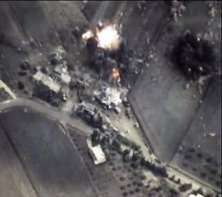 Precision bombing left Western media no recourse that to make up fake civilian targets