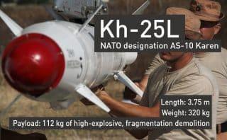 Russia's precision guided bomb