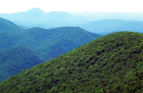 Beautiful Pennsylvania Mountains