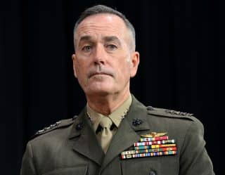 Gen. Joseph Dunford, chairman of the Joint Chiefs of Staff.