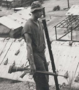 A tall skinny Gordon in Vietnam, where 200 night ambush patrol missions sharpens one's survival skills