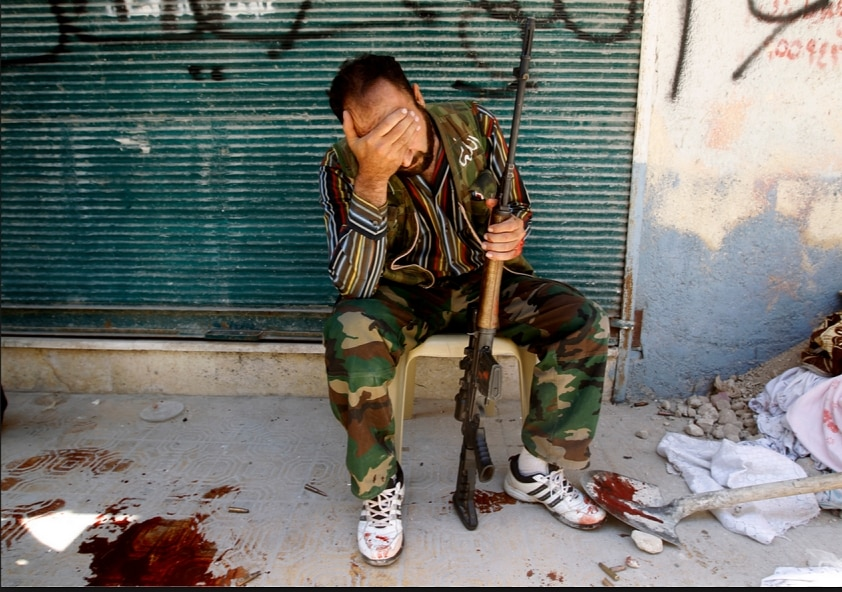 "Is this the last FSA fighter, the ""loneliest man in the world?"""