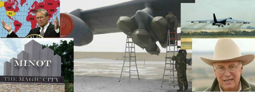 B-52H leaving Minot