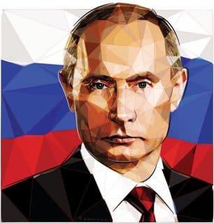 Putin art