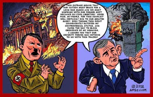Reichstag fire & Sept 11