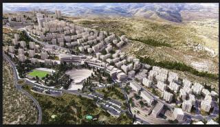 Palestinian settlement Al-Rawabi