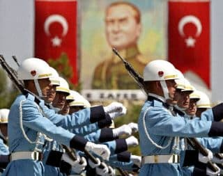 Would Erdogan really intervene against the Kurds in Syria...taking on the US, Syria and Russia?